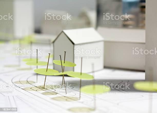 Architectural Modelmaquette Skala Stockfoto und mehr Bilder von Architektur