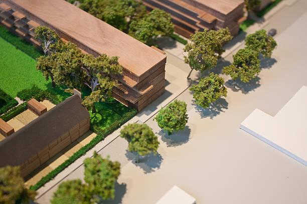 Architektonische maßstabsgetreue-urbanes Wohnen – Foto