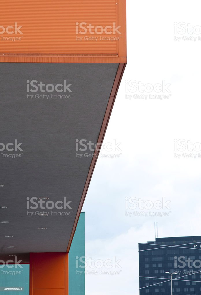 Architectural shapes royalty-free stock photo