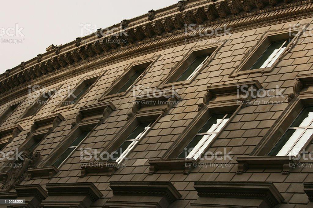 Architectural Windows stock photo