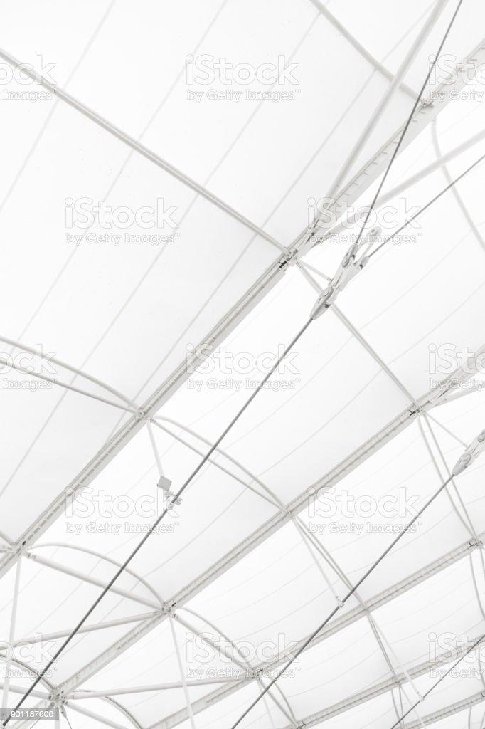 Abstrakte moderne Architektur Dach – Foto