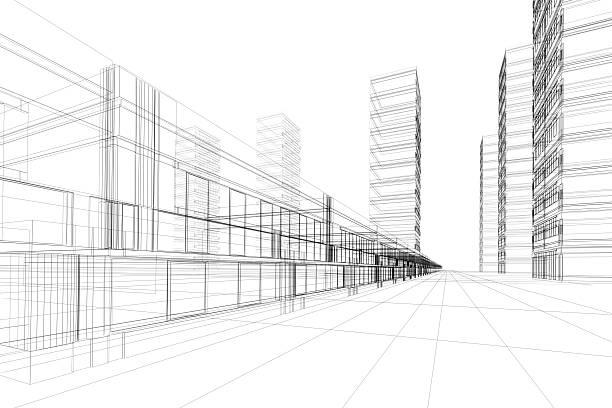 Abstrakt Architektur – Foto