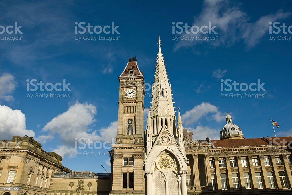 Architecture against blue sky royalty-free stock photo
