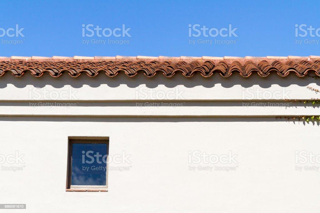 Architecture et ciel bleu photo libre de droits