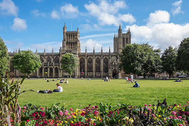 Architecture and buildings of Bristol, UK stock photo