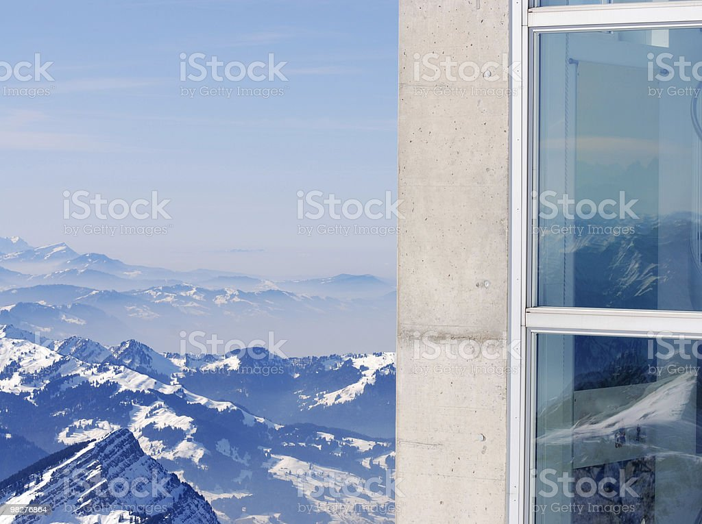 architecture and nature royalty-free stock photo