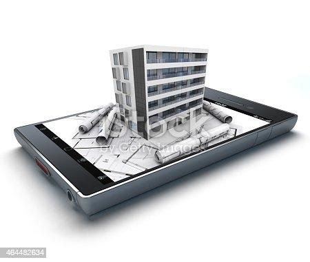 istock Architecture app 464482634