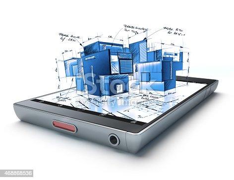 istock Architecture app 468868536