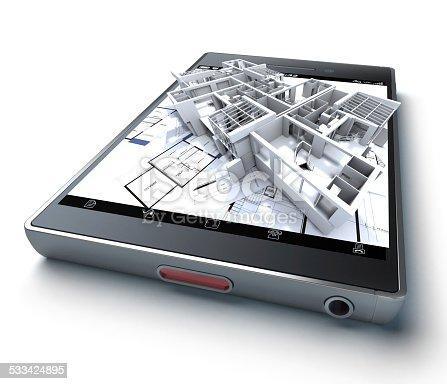 istock Architecture app 533424895