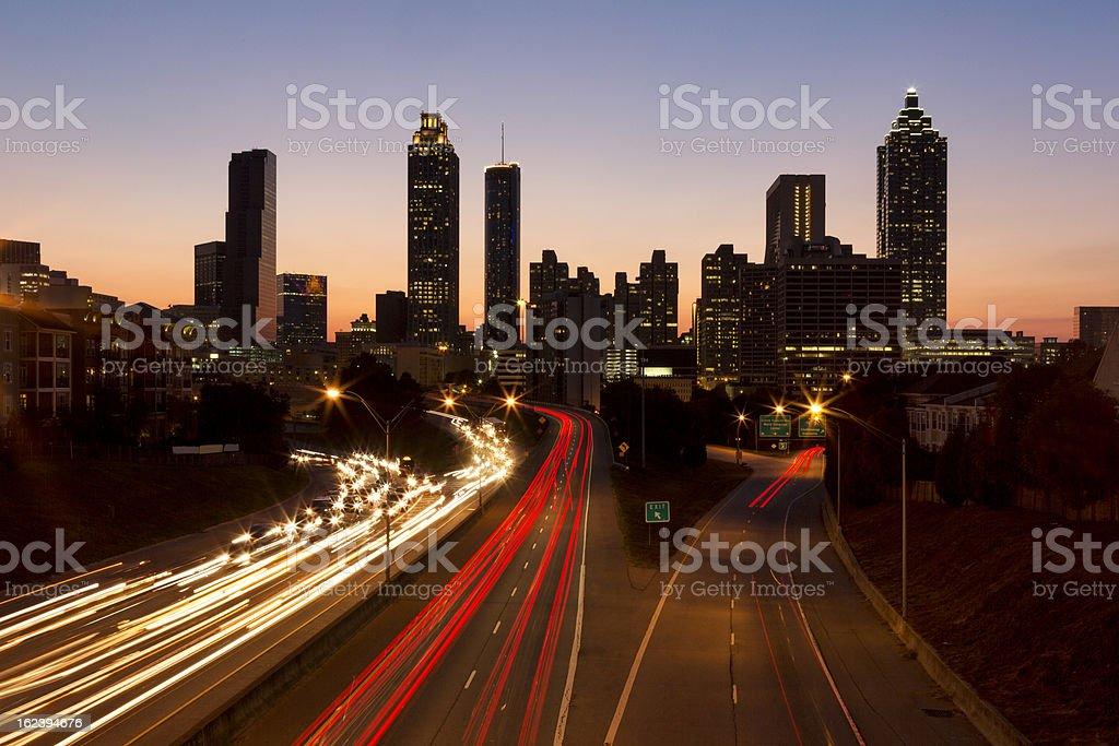 Architecture: Atlanta Georgia royalty-free stock photo