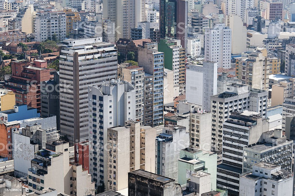 architecture background city sao paulo royalty-free stock photo