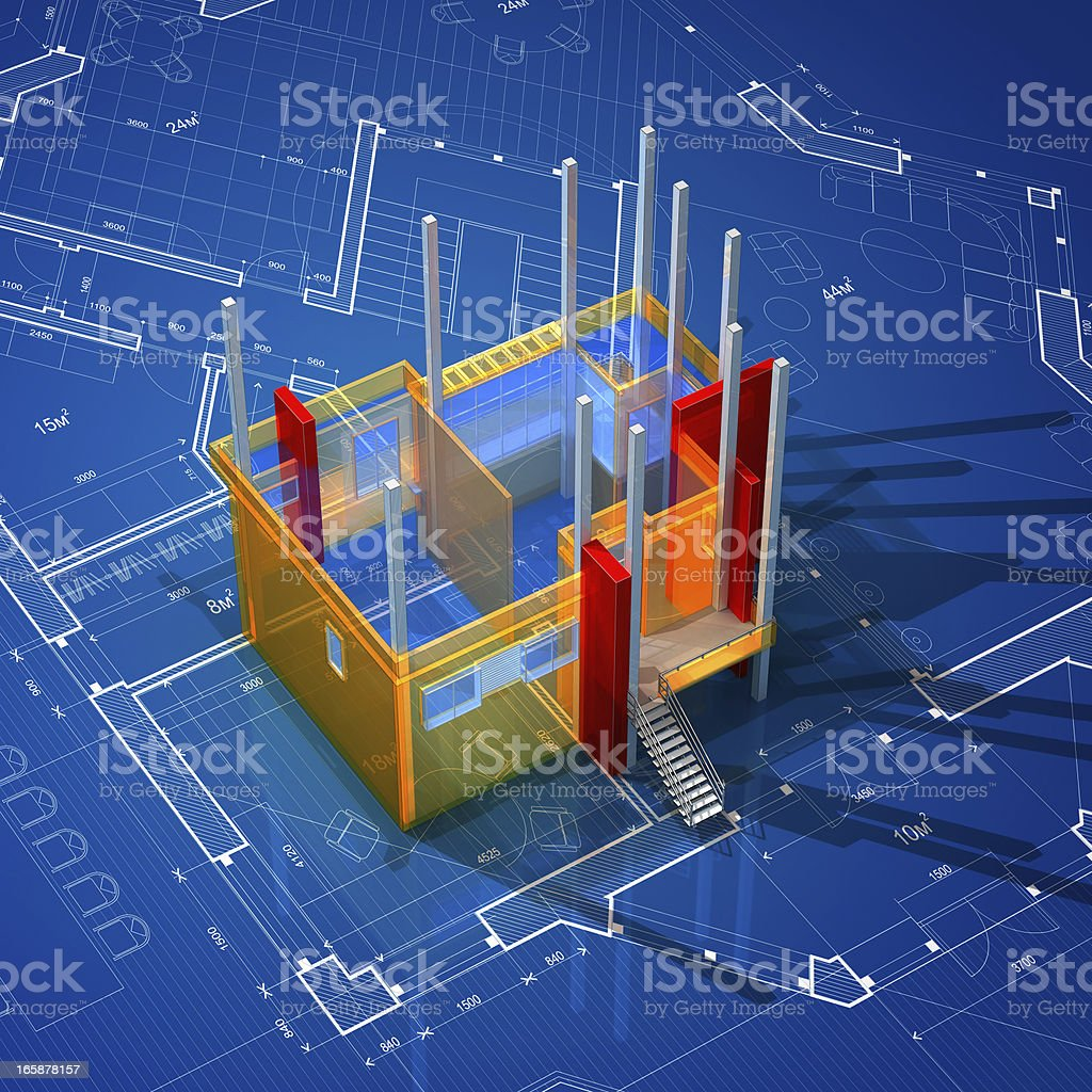 Architecture Background royalty-free stock photo