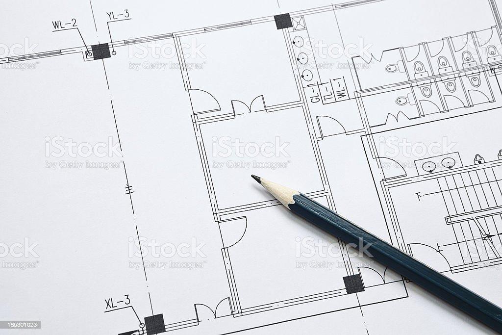 Architecture blueprint detail stock photo more pictures of architecture blueprint detail royalty free stock photo malvernweather Choice Image