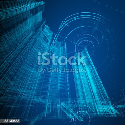 istock Architecture Blueprint 155139865