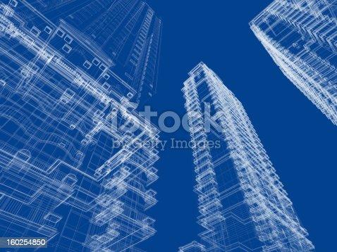 istock Architecture Blueprint 160254850