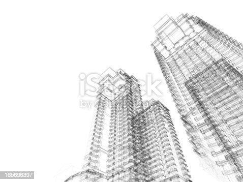 istock Architecture Blueprint 165696397