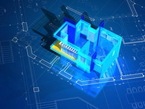 istock Architecture Blueprint 168312420