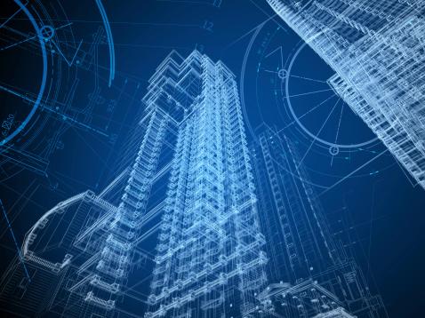 istock Architecture Blueprint 168386317