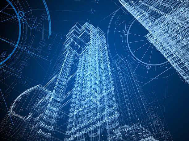 architektura projekt - inżynieria zdjęcia i obrazy z banku zdjęć