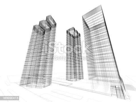 184405668 istock photo Architecture Blueprint 169990413