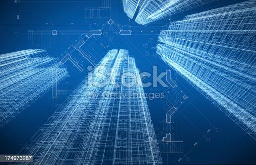 507211099istockphoto Architecture Blueprint 174973287