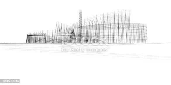 165915564 istock photo architecture Blueprint 184592694