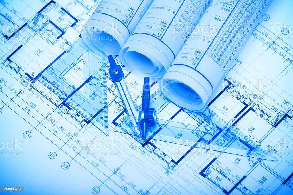 Architecture blueprints background stock photo more pictures of architecture blueprints background royalty free stock photo malvernweather Image collections