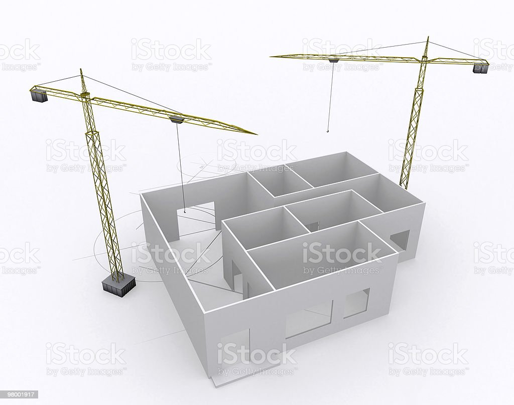 Architecture Building Construction royalty-free stock photo
