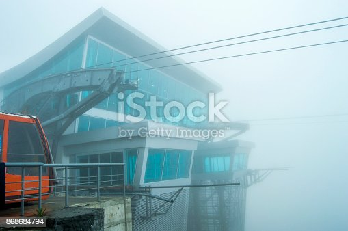 533437662 istock photo Architecture Cable car building front part 868684794