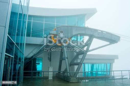 533437662 istock photo Architecture Cable car building the center part 868688216