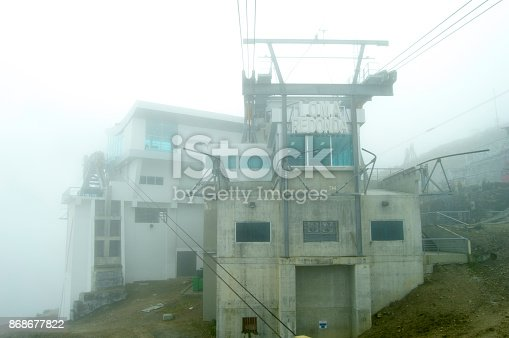 533437662 istock photo Architecture Cable car first stasion 868677822
