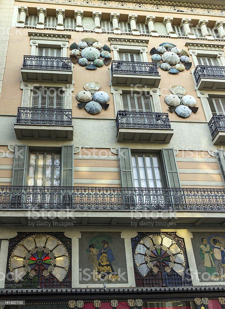architecture Casa Bruno Cuadros royalty-free stock photo