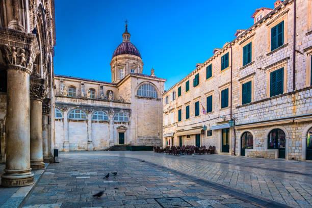 Architektur-Dom Dubrovnik Kroatien. – Foto