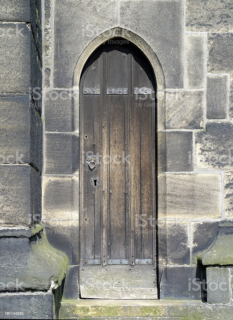 Architecture - Church Door royalty-free stock photo