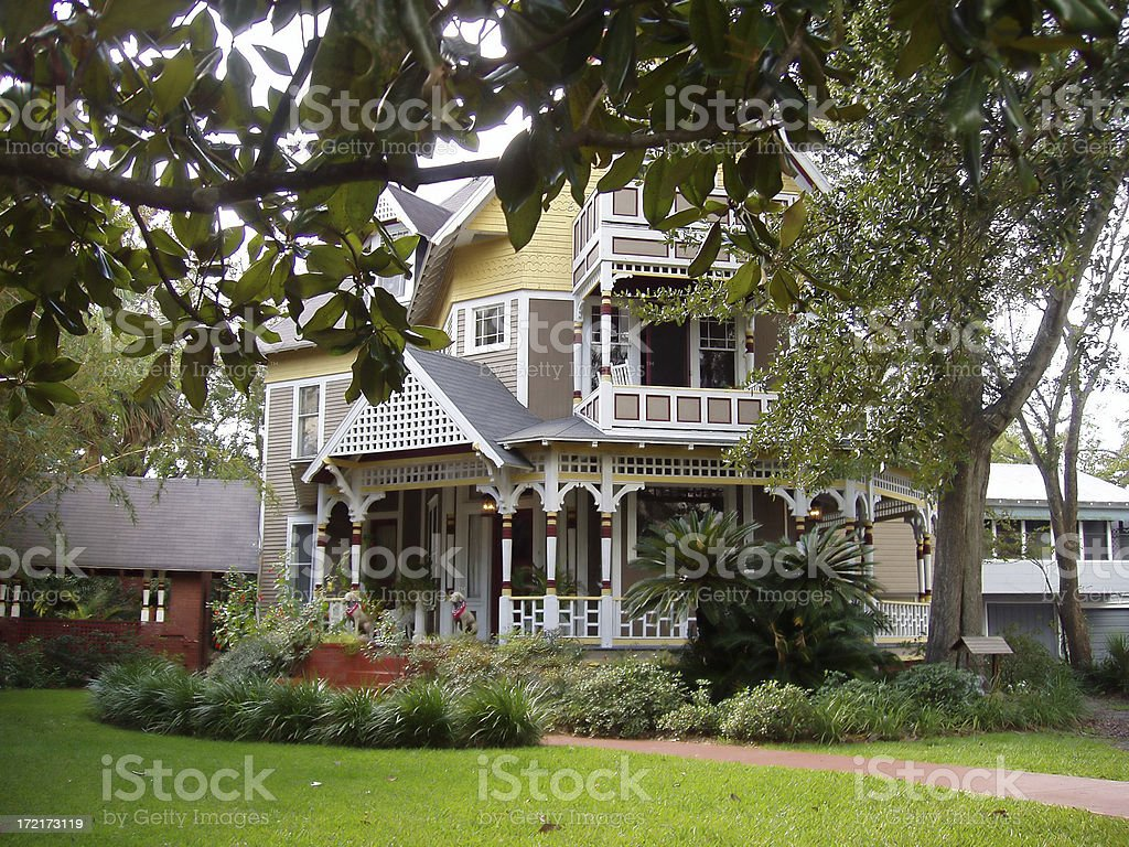 Architecture - Classic Victorian Home - Real Estate royalty-free stock photo