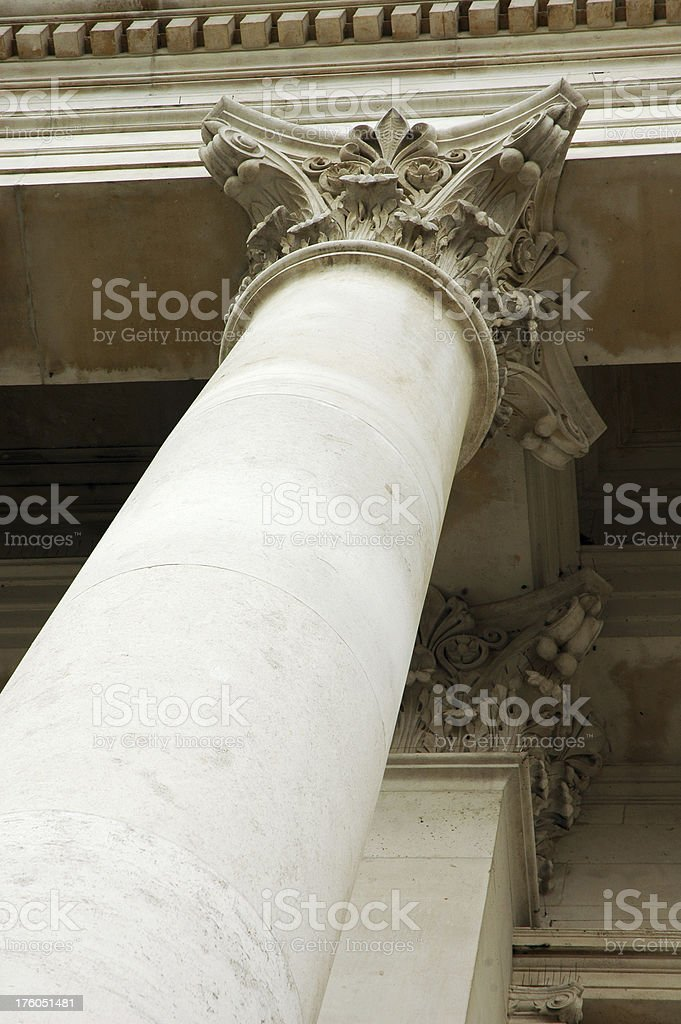 Architecture - Column royalty-free stock photo