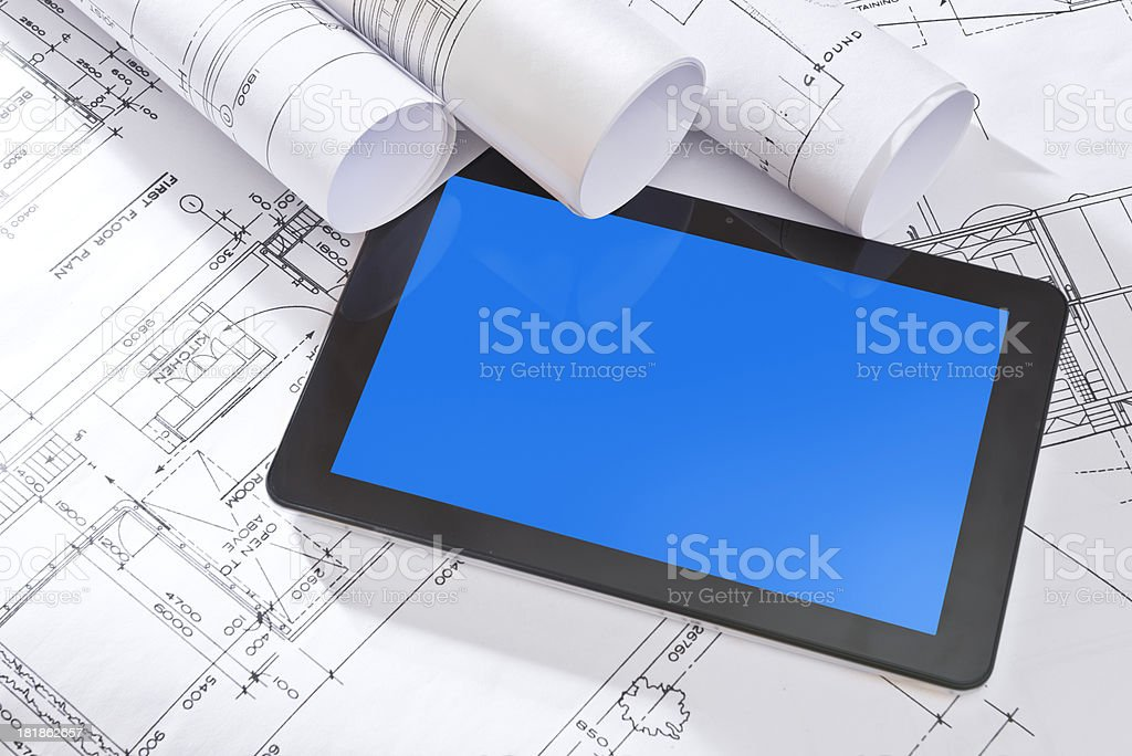Architecture concept royalty-free stock photo