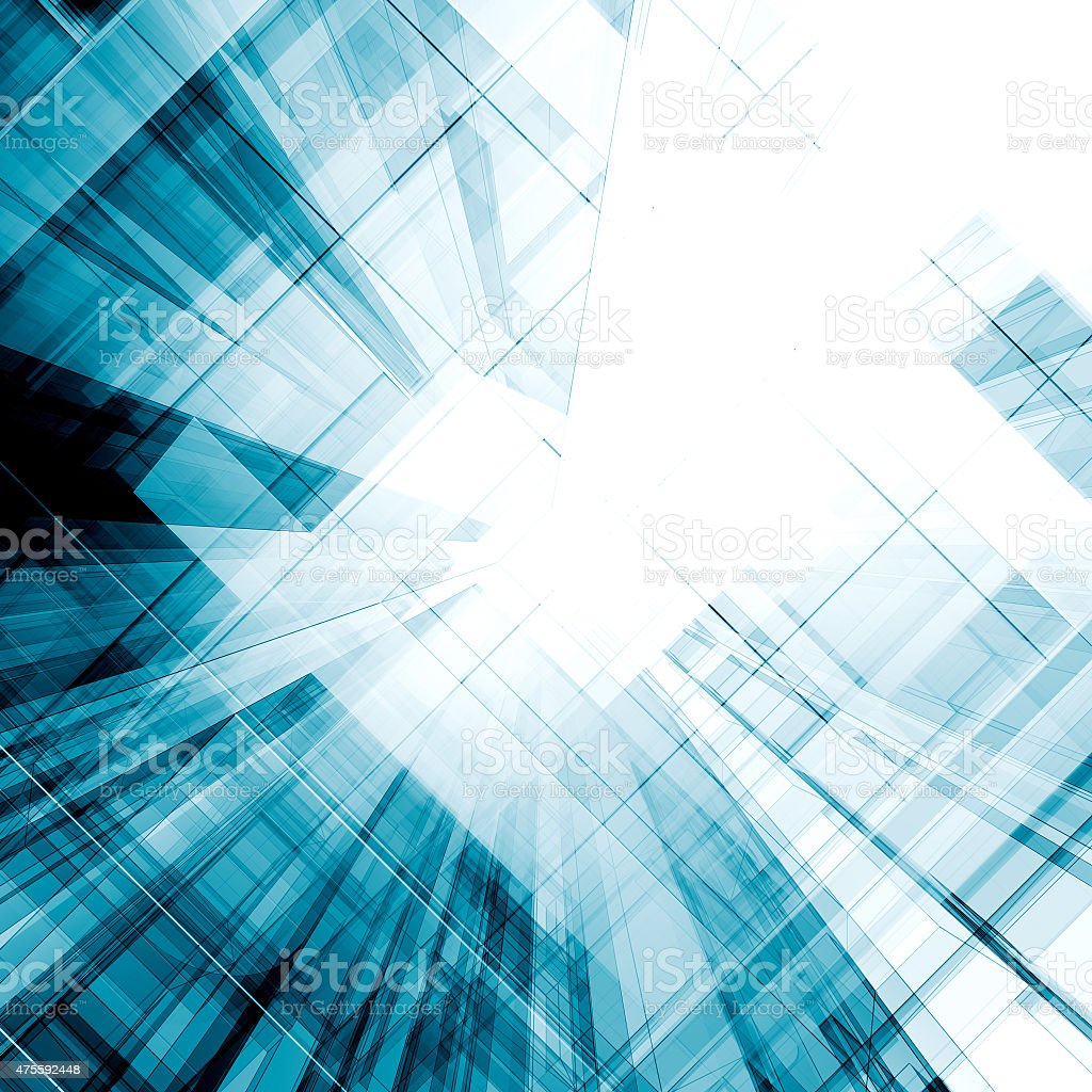Architecture concept stock photo