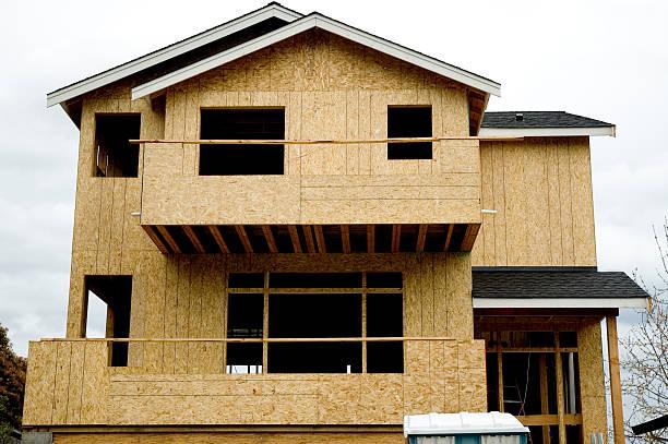 Architecture - Construction Zone stock photo