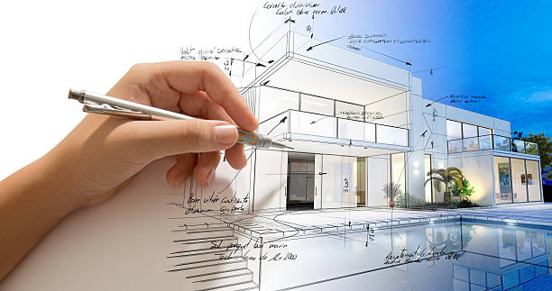 architecture creative process - architecture stock photos and pictures