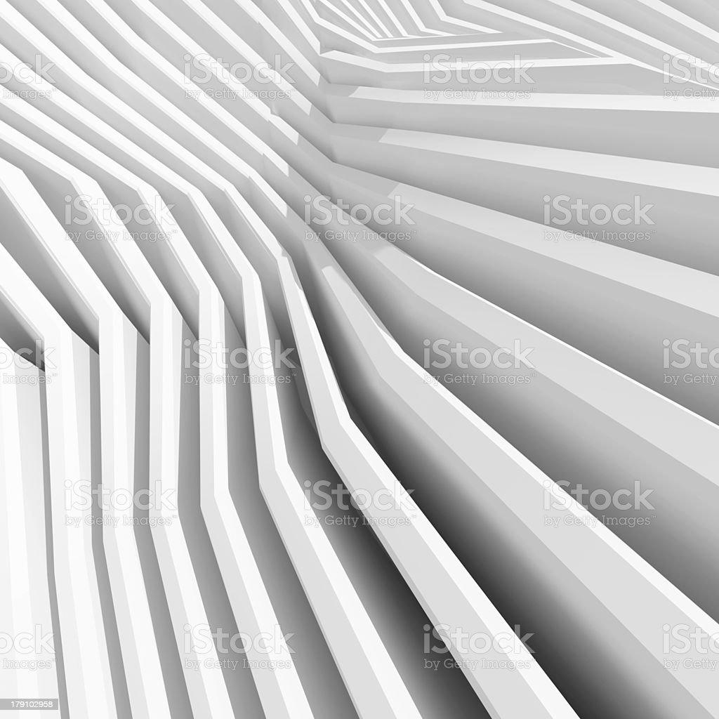 3d Illustration of Modern Architecture Design