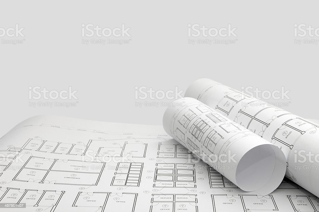 Architecture design project blueprints background with copy space architecture design project blueprints background with copy space royalty free stock photo malvernweather Choice Image