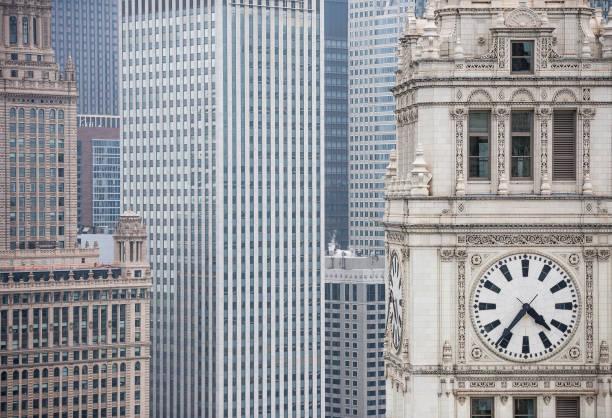 Architecture detail - Chicago /  Architecture concept (Click for more) stock photo