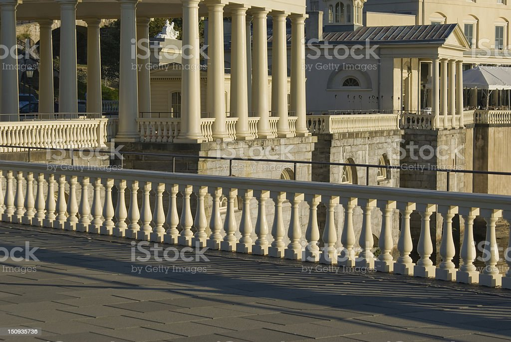 Architecture Detail - Columns royalty-free stock photo