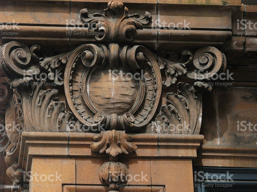 Architecture Detail. royalty-free stock photo