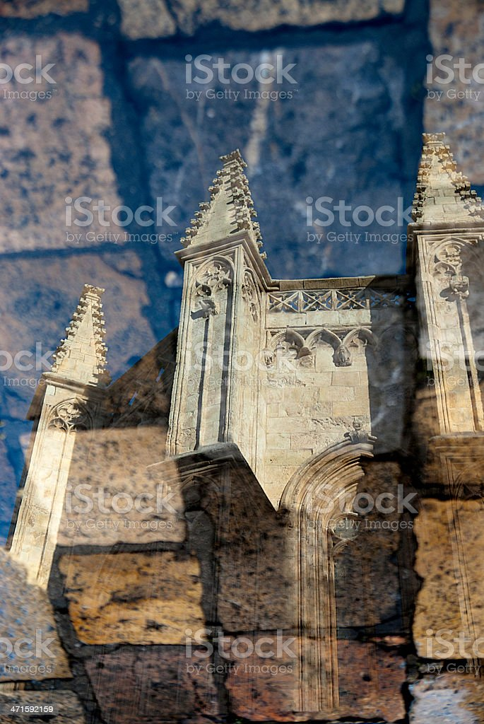 Architecture Detail Reflection royalty-free stock photo