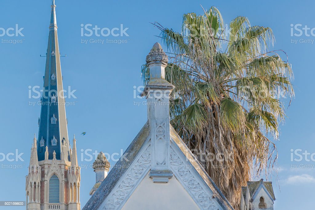 Architecture Detail View in San Isidro Buenos Aires stock photo