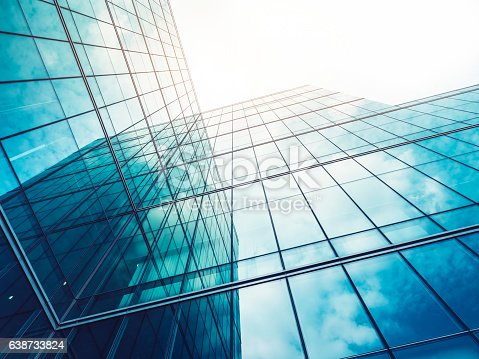 istock Architecture details Modern Building Glass facade Exterior 638733824