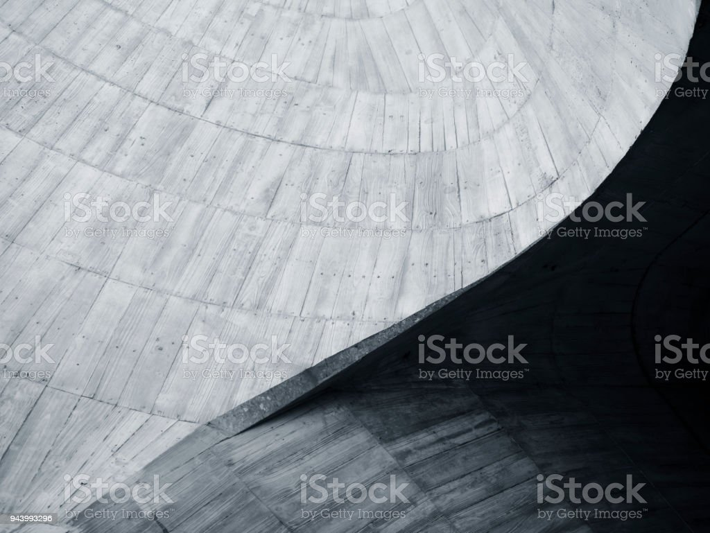 Architecture details wall curve Concrete cement Texture abstract...