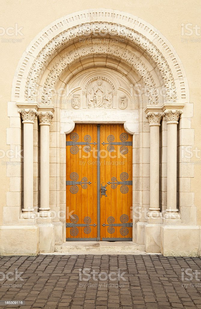 Architecture - Door royalty-free stock photo